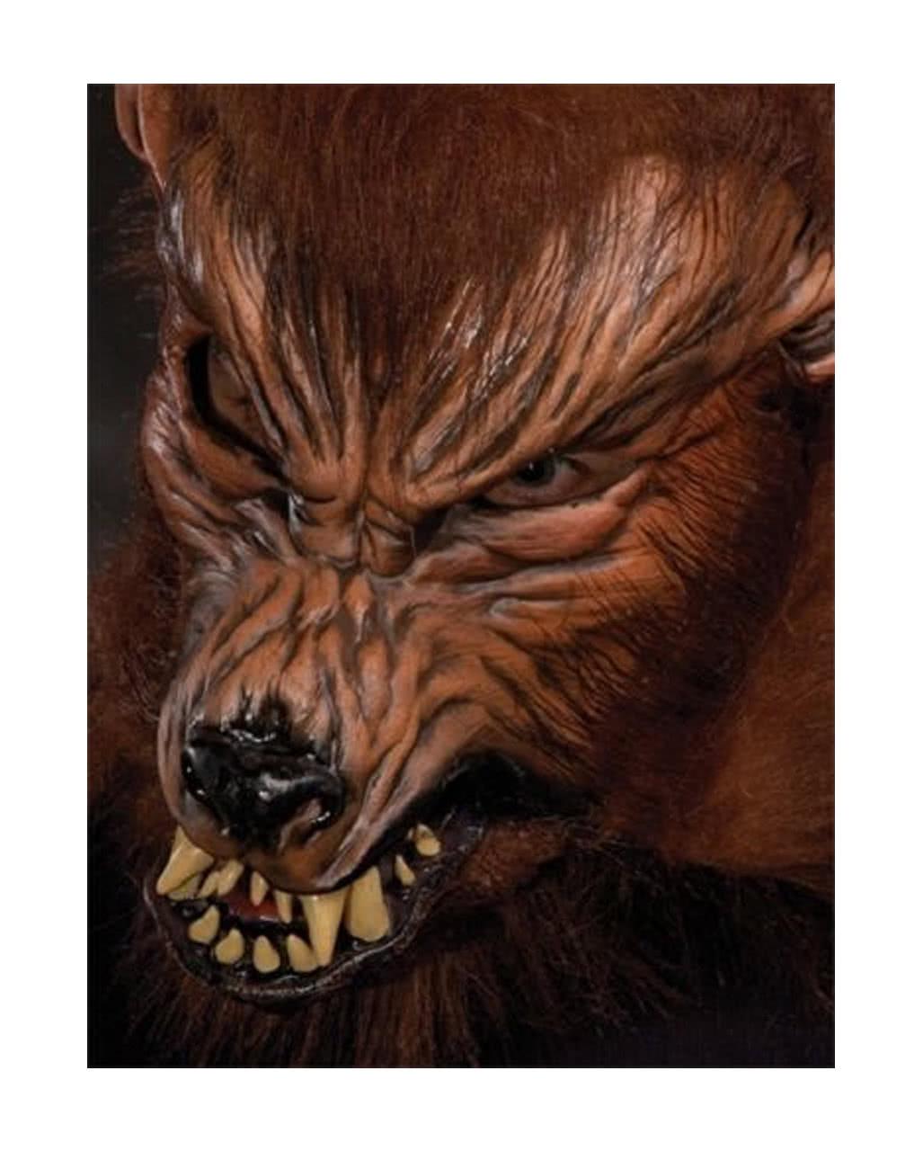 howl oween wolf maske werwolf maske kaufen karneval. Black Bedroom Furniture Sets. Home Design Ideas