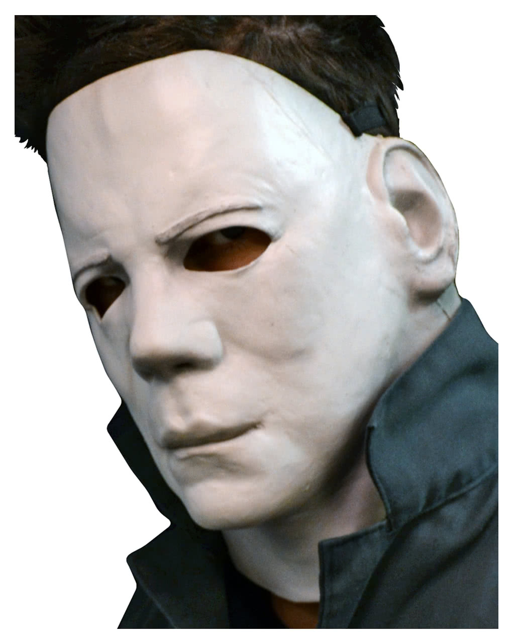 michael myers halloween halbmaske horror maske karneval. Black Bedroom Furniture Sets. Home Design Ideas