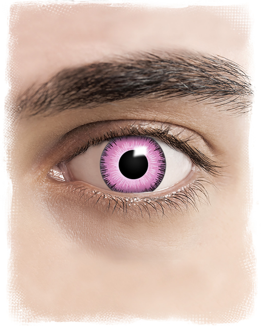 Cosplay Contact Lenses Pink for Comic Con's | - Karneval ...