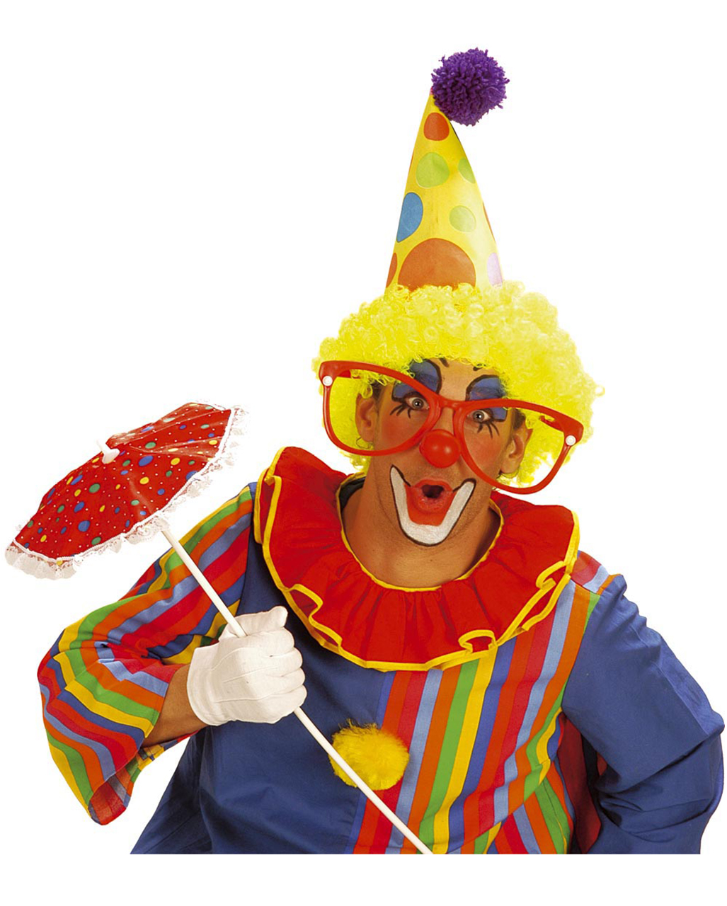 riesenbrille rot clown brille zirkus zubeh r clownsbrille karneval universe. Black Bedroom Furniture Sets. Home Design Ideas