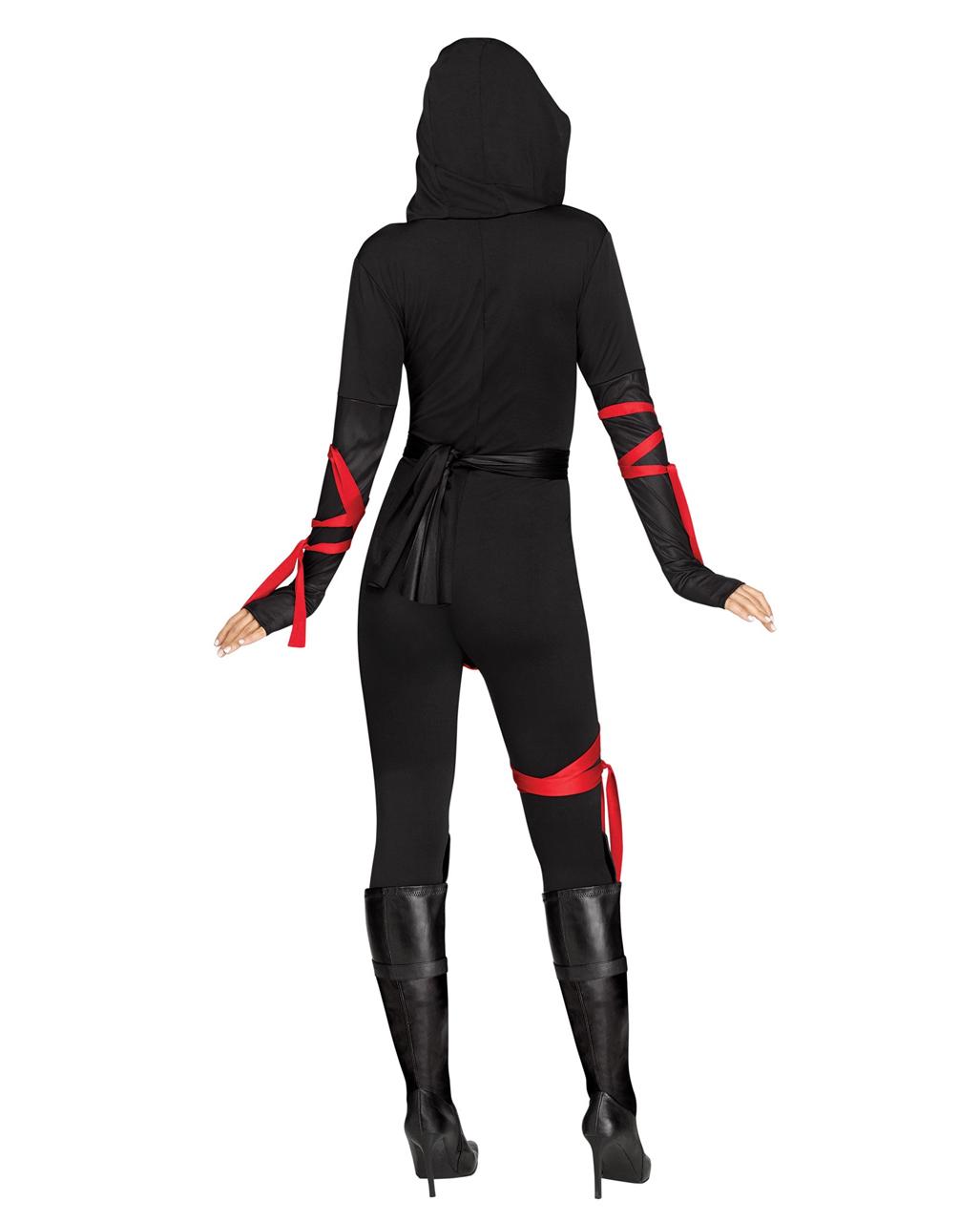 ninja kriegerin frauenkost m f r karneval karneval universe. Black Bedroom Furniture Sets. Home Design Ideas