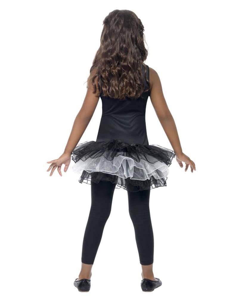 skelett ballerina kost m f r kinder s es skelettn. Black Bedroom Furniture Sets. Home Design Ideas