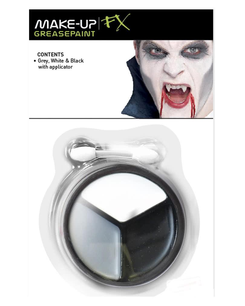 vampir schminke 4 teilig vampir make up leicht gemacht karneval universe. Black Bedroom Furniture Sets. Home Design Ideas