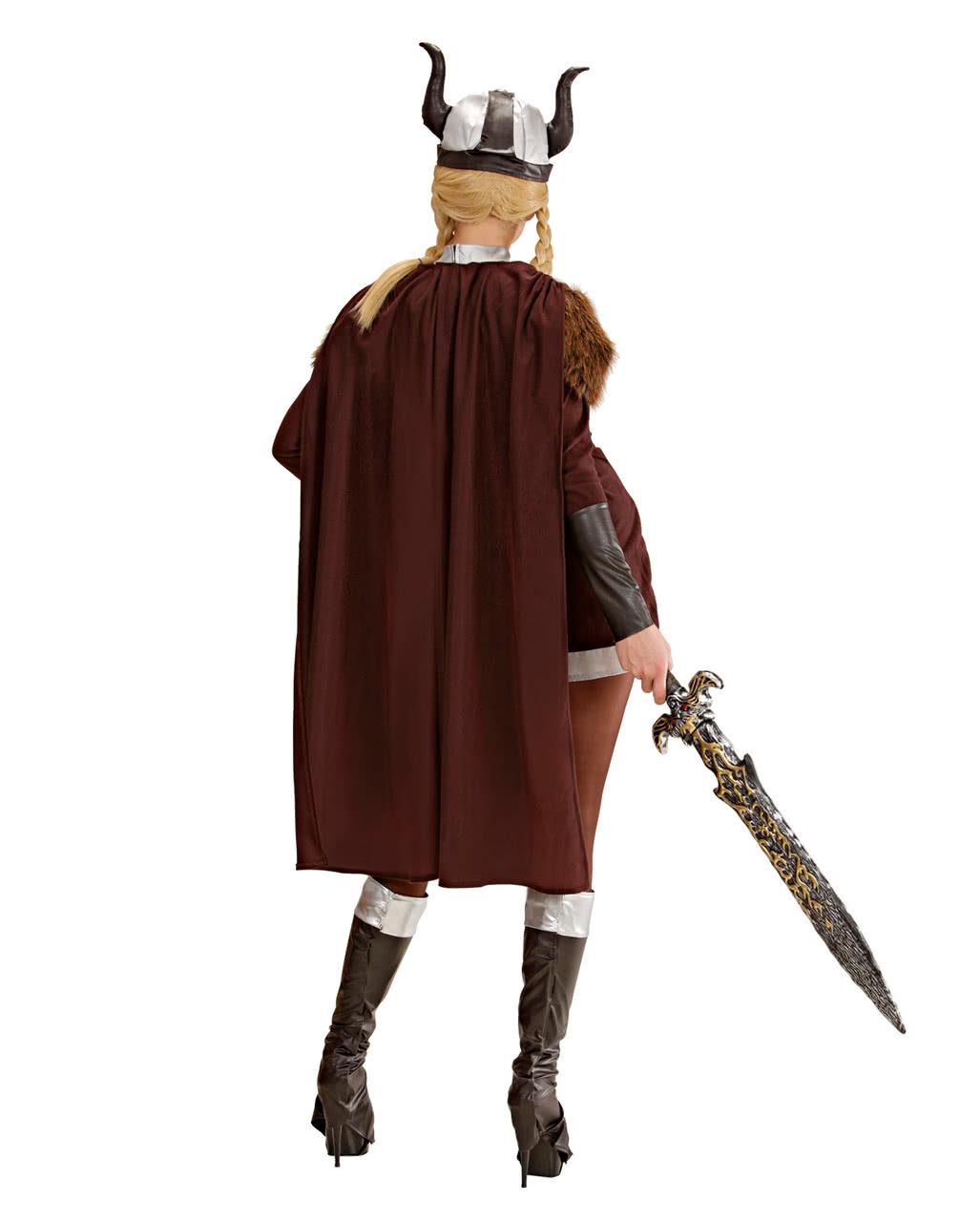 wikinger walk re viktoria kost m 38 40 f r halloween karneval universe. Black Bedroom Furniture Sets. Home Design Ideas
