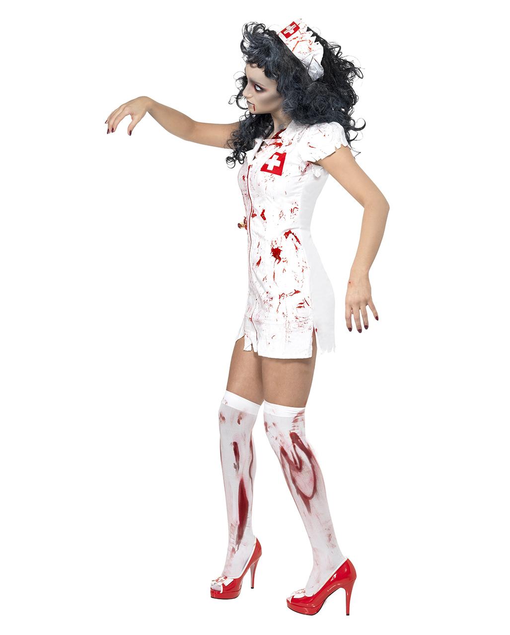 zombie krankenschwester kost m f r den zombie walk karneval universe. Black Bedroom Furniture Sets. Home Design Ideas