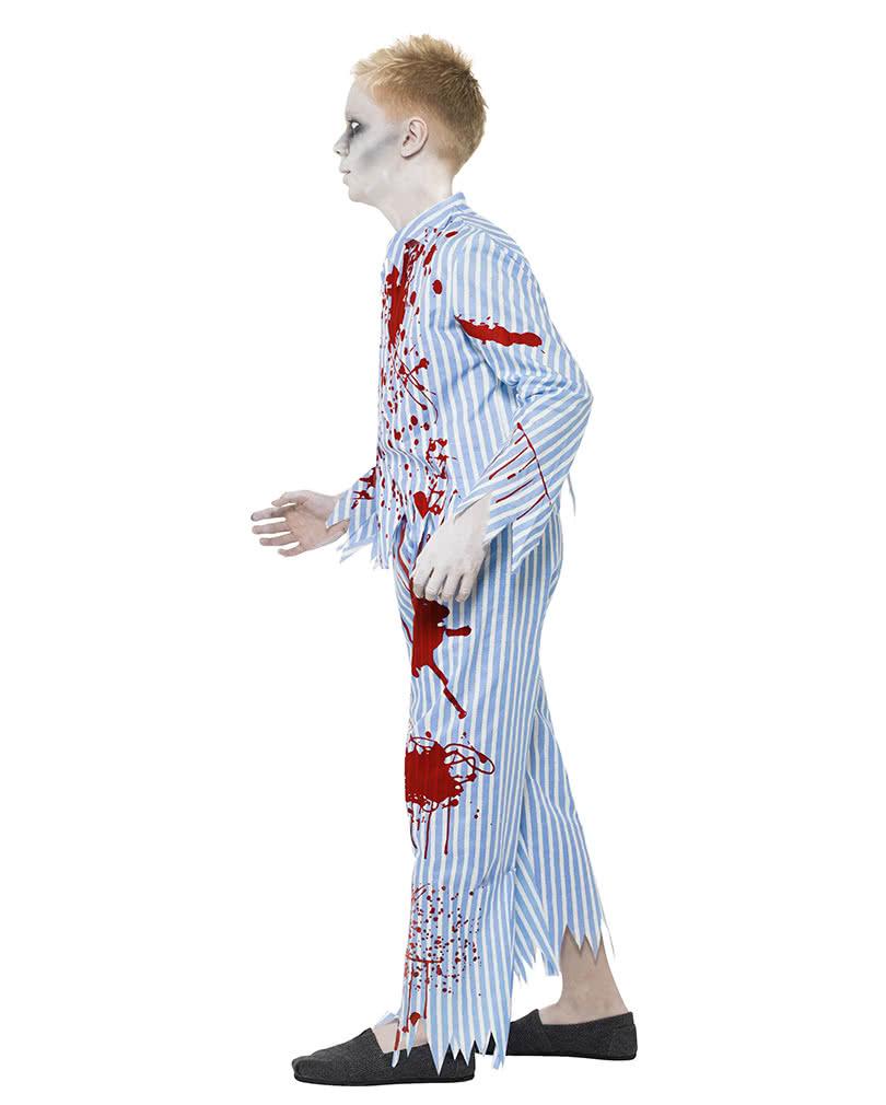 zombie schlafanzug f r jungs zombie halloween kost m. Black Bedroom Furniture Sets. Home Design Ideas