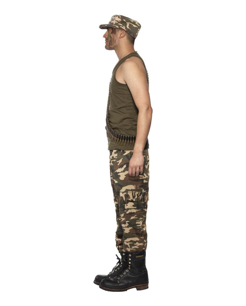 army camo herren kost m milit rverkleidung f r m nner karneval universe. Black Bedroom Furniture Sets. Home Design Ideas