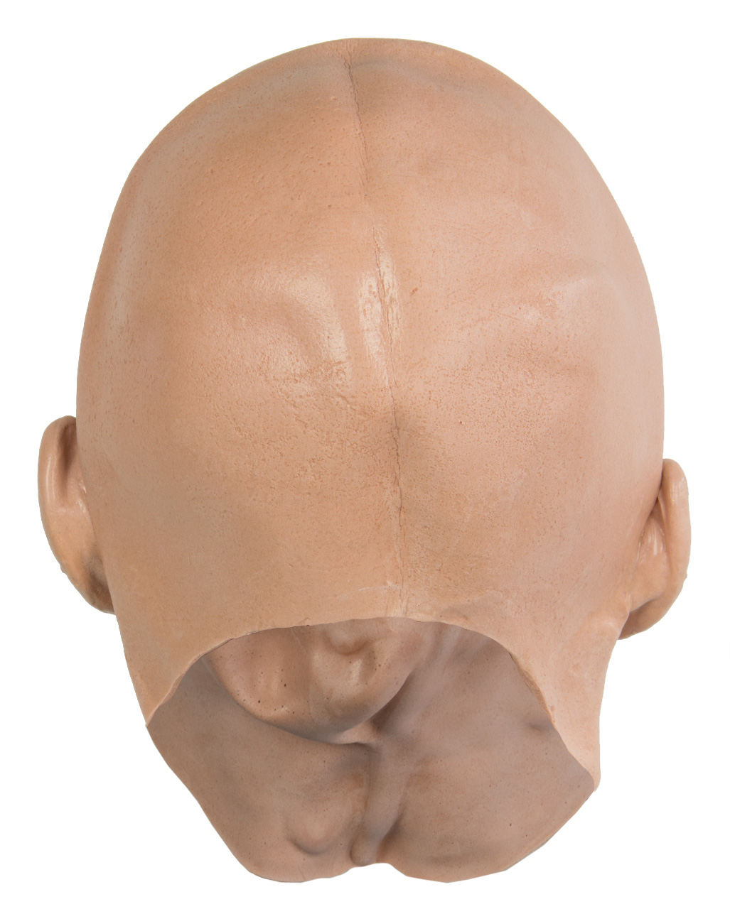 fill a latex mask How to foam