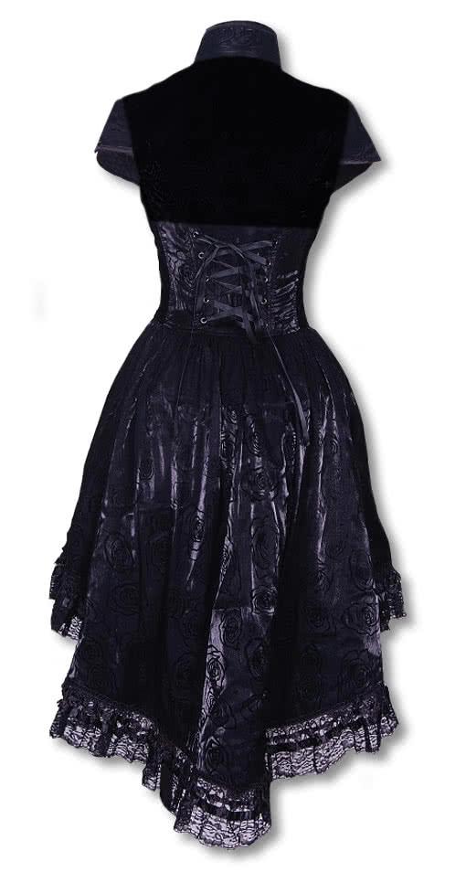 romantisches kleid mit bolero gothic kleider karneval universe. Black Bedroom Furniture Sets. Home Design Ideas