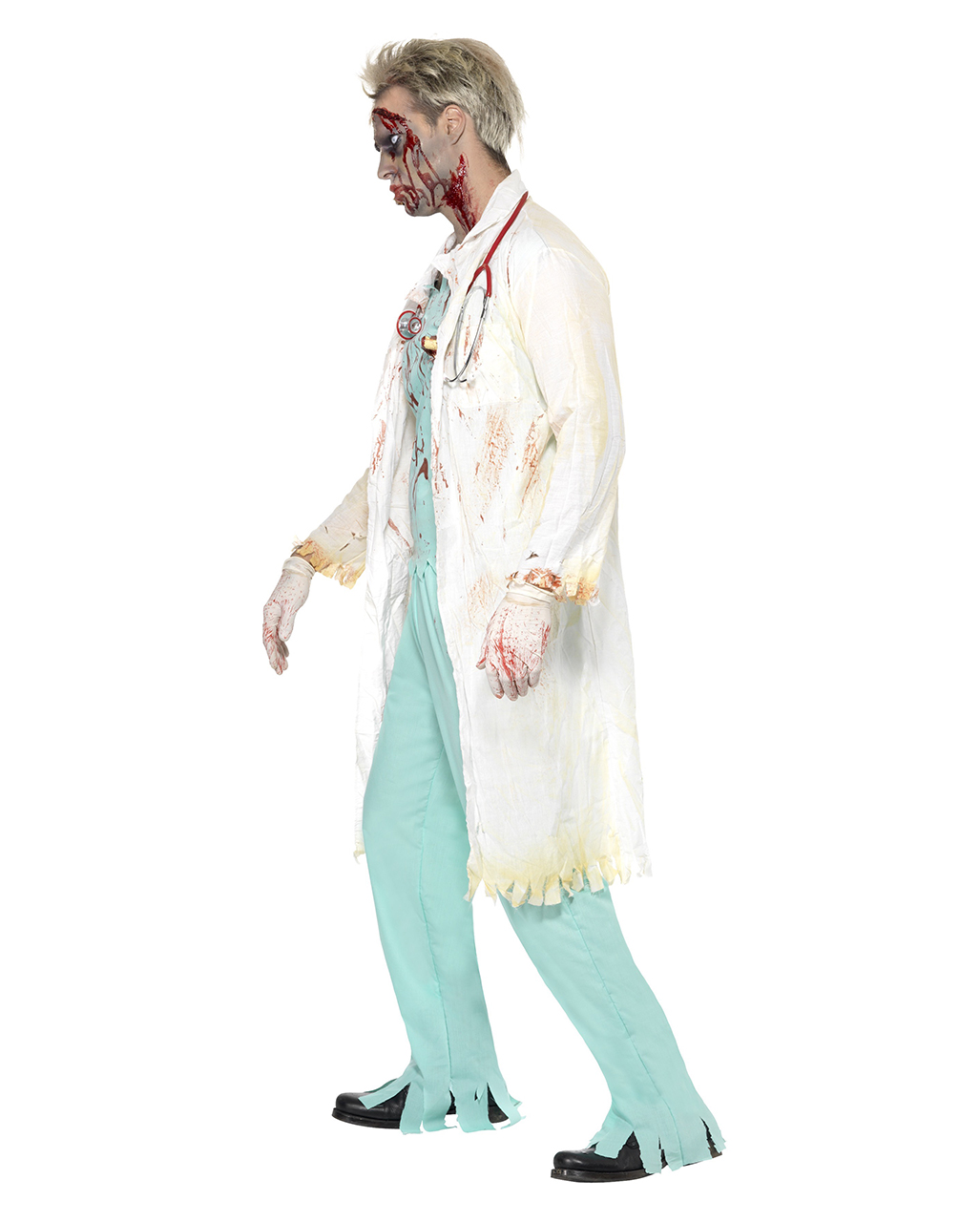 zombie arzt kost m blutiges zombie chirurgen kost m. Black Bedroom Furniture Sets. Home Design Ideas